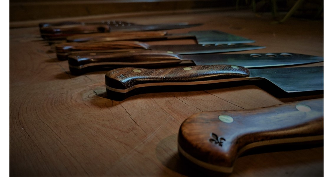 LaManchure knife display 2